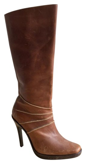 Preload https://img-static.tradesy.com/item/22235882/steve-madden-brown-vintage-leather-bootsbooties-size-us-75-regular-m-b-0-1-540-540.jpg