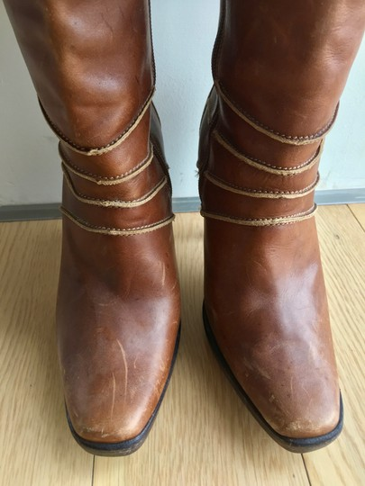 Steve Madden Leather Brown Boots Image 10