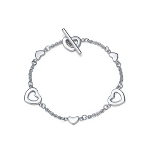 Tiffany & Co. Tiffany Heart Links Lariat Toggle Bracelet 321