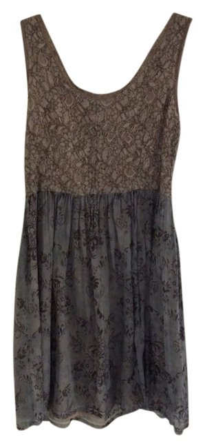 Preload https://item2.tradesy.com/images/knitted-dove-blue-unknown-short-casual-dress-size-8-m-2223671-0-0.jpg?width=400&height=650