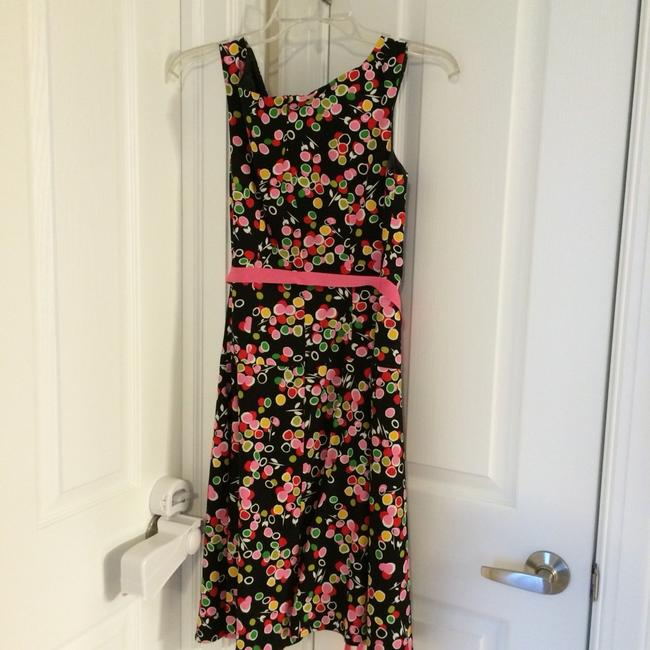 Mark fore & strike short dress Black with Colored Dots on Tradesy