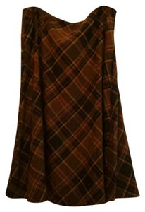 Harvé Benard Skirt Brown