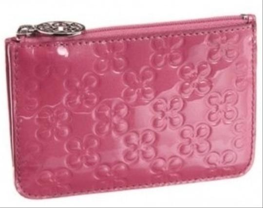 Preload https://item4.tradesy.com/images/coach-purse-pink-embossed-patent-leather-clutch-22238-0-0.jpg?width=440&height=440