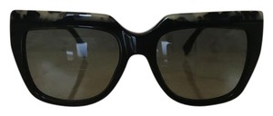 Fendi New Fendi FF0087/s Black Marble Womens Sunglasses