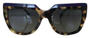 Fendi New Fendi FF0087/s Havana Blue 53mm Sunglasses