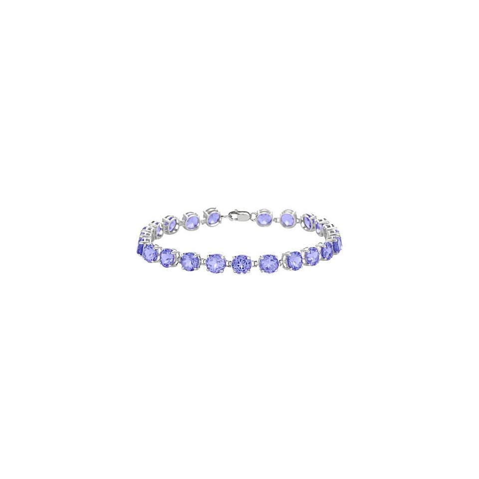 mv bracelet kaystore tanzanite accents silver sterling zm to kay zoom en hover diamond