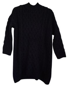Zara Funnel Neck Cable Knit Chunky Knit Sweater