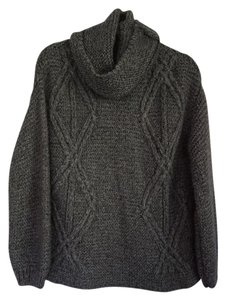 b6210d3c Zara Cowl Neck Chunky Oversized Cable Knit Sweater - item med img