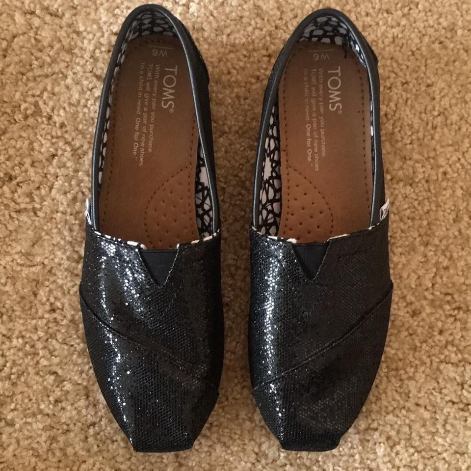 Toms Black Glitter Shoes Review