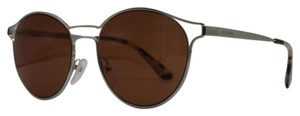 Prada Stunning Round Prada Silver and Brown Cinema Sunglasses SPR 62S