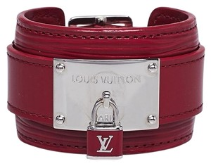 Louis Vuitton LOUIS VUITTON Fuchsia Epi Infinit Bracelet