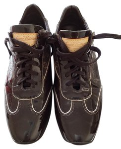 Louis Vuitton Brown/ Patent Leather Athletic