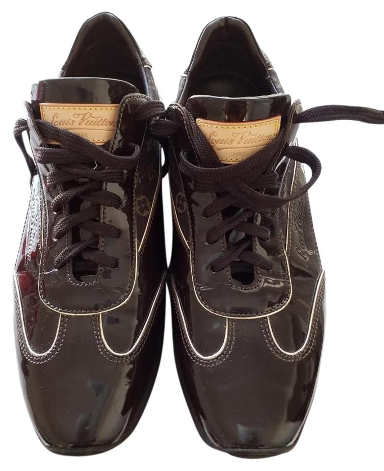 fdacca683e Louis Vuitton Brown/ Patent Leather Womens 10 1/2. Sneakers Size US 10.5  Regular (M, B)