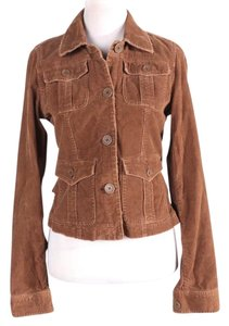 Abercrombie & Fitch brown Womens Jean Jacket
