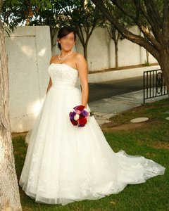 David's Bridal Wg9926ivory/ 10011885 Wedding Dress
