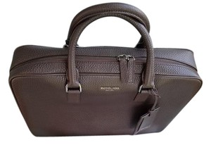 Michael Kors Briefcase Pebbled Leather Messenger Laptop Bag