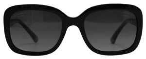 Chanel Chanel Black Square Polarized Quilted Acetate Sunglasses 5329 c.501/s8