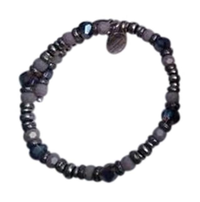 Item - Purple & Silver Birthstone Bracelet