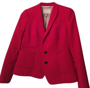 Banana Republic Red Suit Jacket