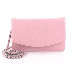 d655e82c9d761d Added to Shopping Bag. Chanel Cross Body Bag. Chanel Timeless Wallet on  Chain (Woc) Pink Caviar ...
