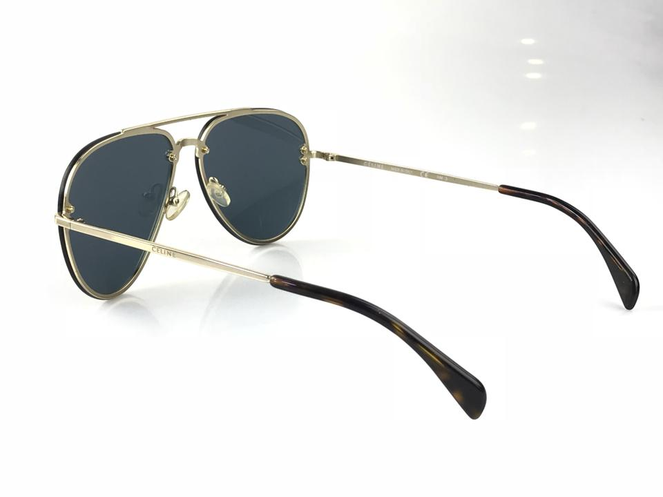 ae5ea525f3 Celine Sunglasses Aviator Gold Filled