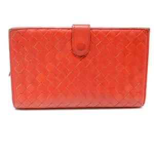 Bottega Veneta Signature Intrecciato Lambskin Bifold Long Travel Wallet Monogram