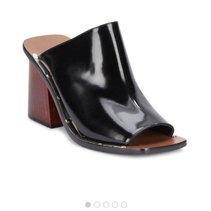 Cline Celebrity Luxury Trendy Classic black Mules