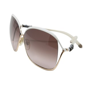d09fd2b8c24a Chrome Hearts Signature Butterfly White CH .925 Silver Gold Sunglasses