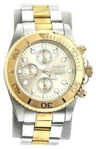 Invicta * Invicta Two Tone Chronograph Unisex Watch