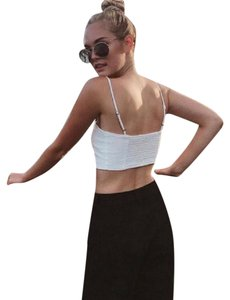 Brandy Melville white Halter Top