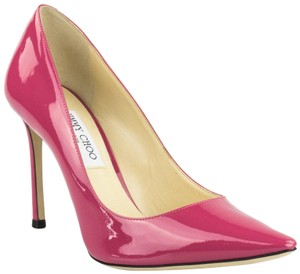 Jimmy Choo Romy Stiletto Candy Pink Pumps