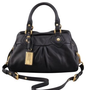 Marc by Marc Jacobs Satchel in pebble black