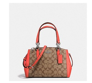 Coach Christie Carryall Shoudler 37762 Satchel in multicolors