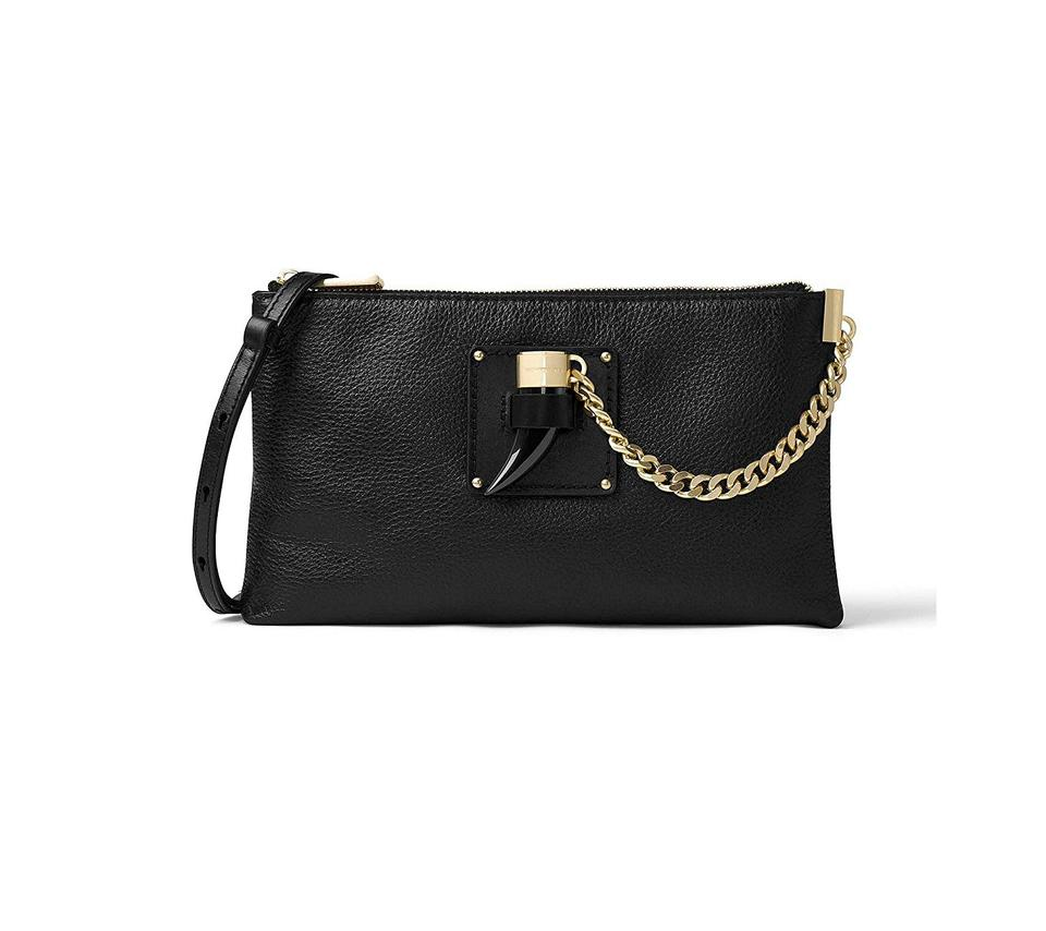 b86f027d6102 ... Black Michael Kors Clutches - Up to 70% off at Tradesy ...