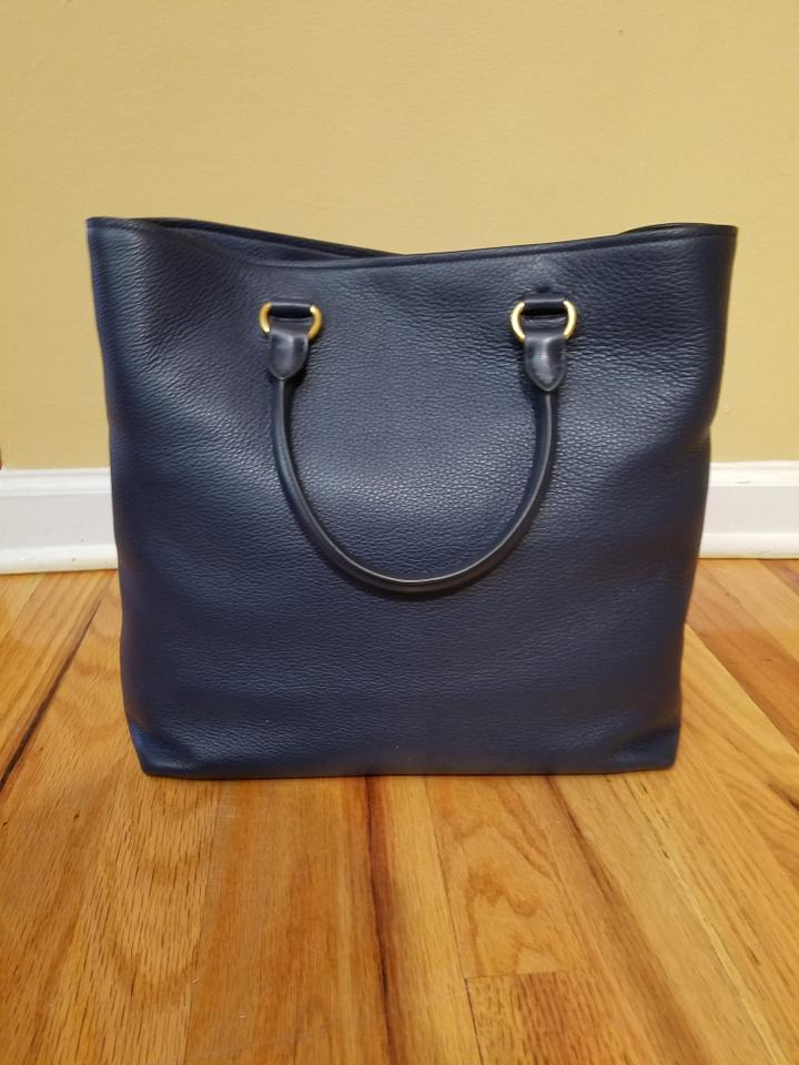 e684884c5f05 Prada Baltic Blue Tote - Tradesy Neo LUXuries: PRADA Saffiano Cuir Leather  Medium Double ...