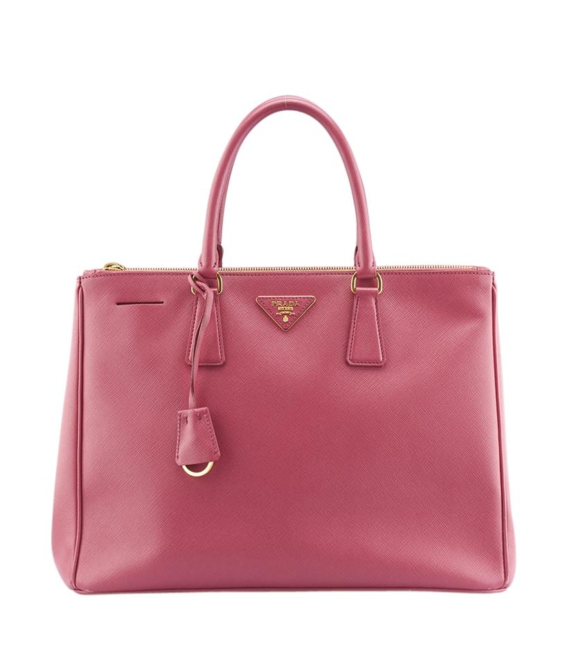 76066d834811 Prada Saffiano Large (136322) Pink Leather Tote - Tradesy