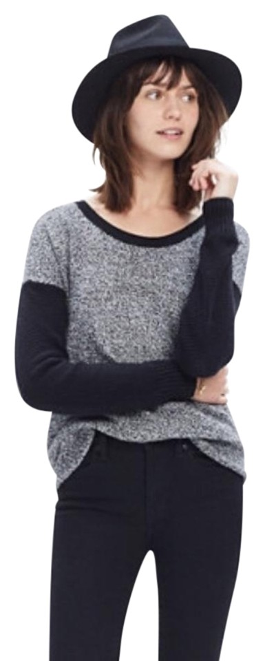 aa46352ecc7 Madewell Chronicle Textured Colorblock Sweater - Tradesy