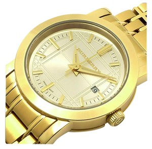 Burberry 100% Brand New in the Box Burberry women Gold watch BU1394