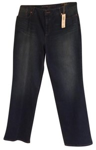 Chico's Straight Leg Jeans-Dark Rinse