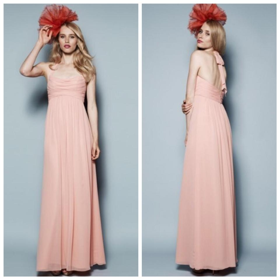 Watters & Watters Bridal Coral Laurel 3534 Long Formal Dress Size 10 ...