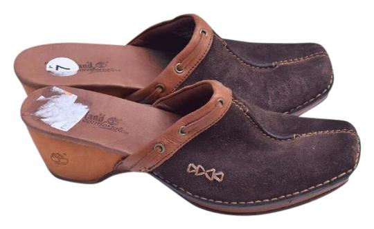 Timberland brown Mules Image 0