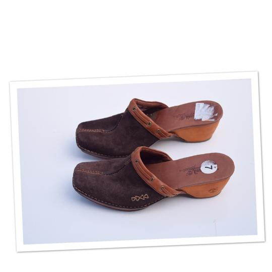Timberland brown Mules Image 1