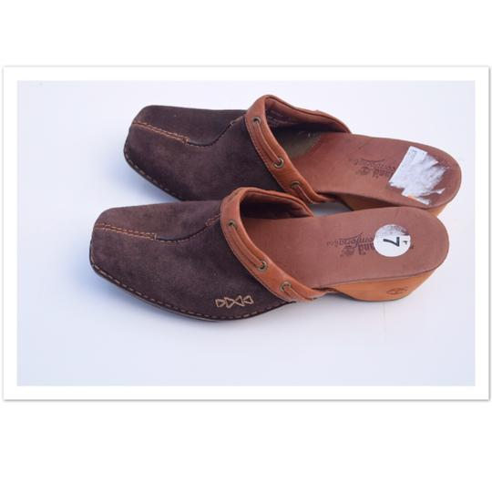 Timberland brown Mules Image 2