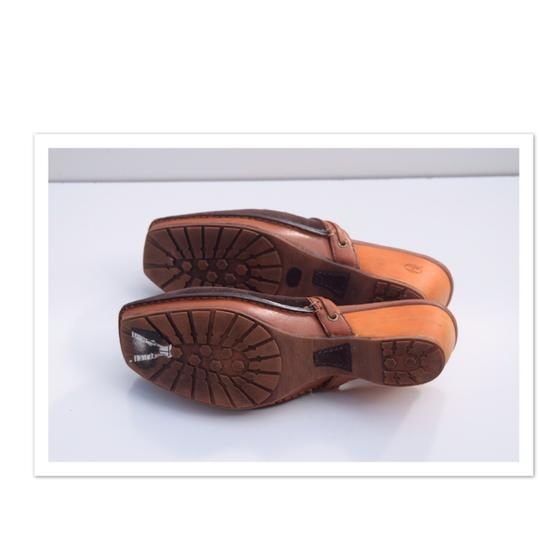 Timberland brown Mules Image 3
