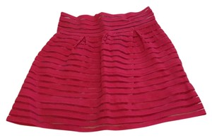 San Joy Mini Skirt hot pink