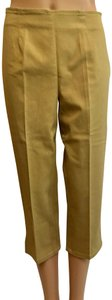 Victoria's Secret Cropped Pant Stretchy Capris Khaki