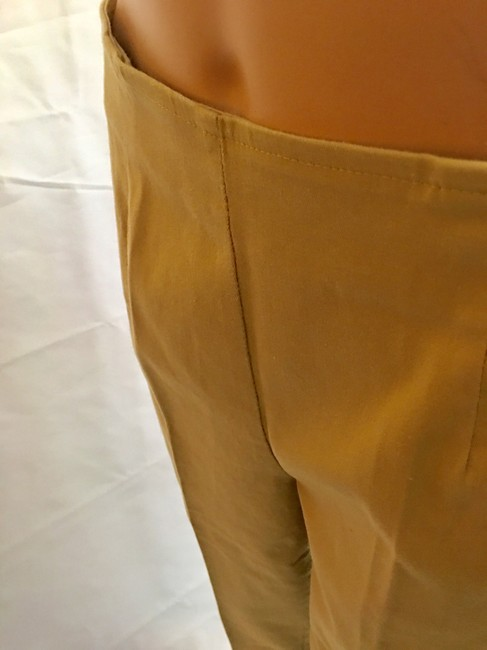 Victoria's Secret Cropped Pant Stretchy Capris Khaki Image 3