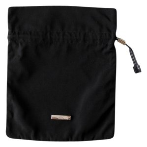 Gucci Nylon Pouch Drawstring Satchel in Black