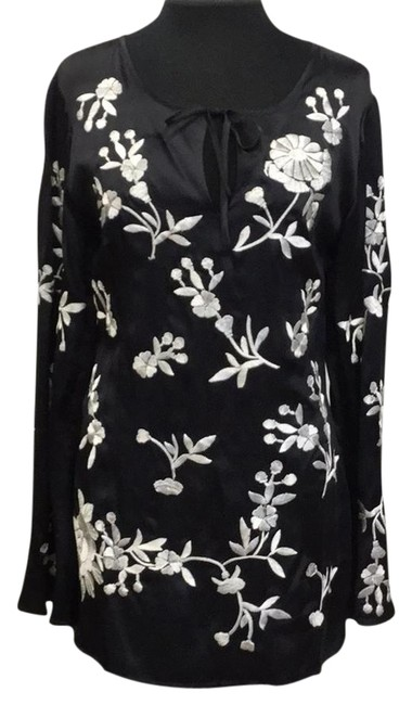 Preload https://img-static.tradesy.com/item/22247448/spiegel-black-pure-silk-embroidered-tunic-size-6-s-0-1-650-650.jpg