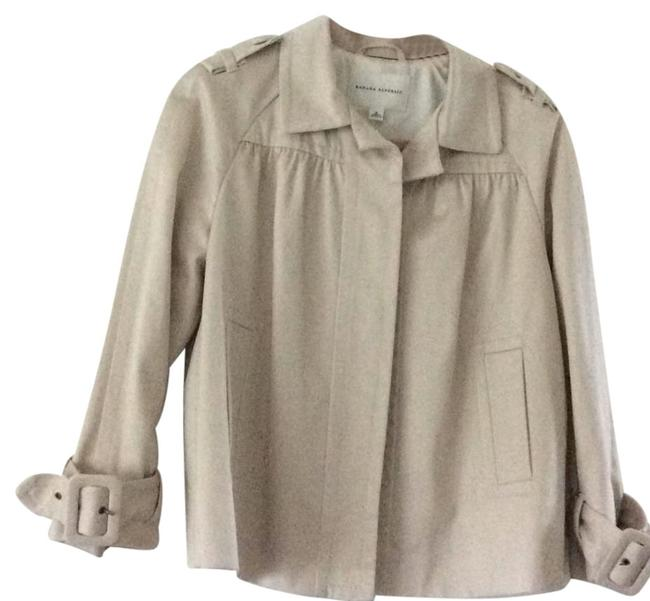 Banana Republic Lt. beige Womens Jean Jacket